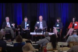 Experts debate fracking at the 2017 Silicon Valley Energy Summit.