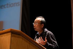 Stanford Professor H.-S. Philip Wong at the 2017 N3XT technology for Brain Inspired Computing in San Diego.