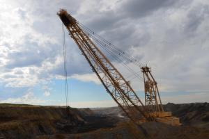 A Wyoming coal pit.