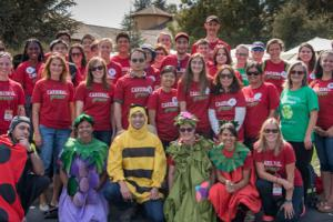 Participants in Sustainable Stanford's My Cardinal Green program.