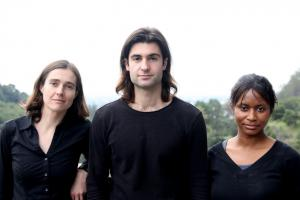 Left to right: Opus 12 founders Kendra Kuhl, Nicholas Flanders and Etosha Cave.