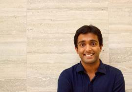 hirranjeevi Gopal, former Stanford postdoctoral researcher, is lead author of the ceria study being published in Nature Communications. Photo courtesy of Chirranjeevi Gopal