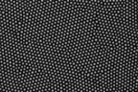 Electron micrograph of wafer made of gold nanodots