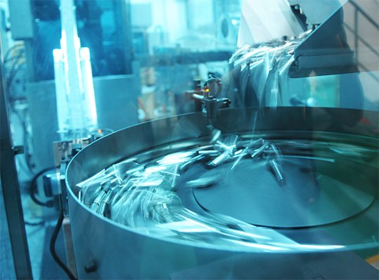 photo of batteries being manufactured