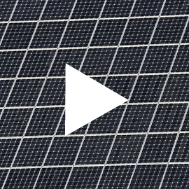 Close up of a photovoltaic panel