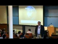 Craig Criddle speaking during Energy@Stanford & SLAC