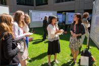 Poster session at 2016 3CE Women in Clean Energy Symposium