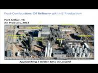 Oil refinery with H2 production at Port Arthur, TX
