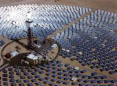 Solar One, solar furnace project, Barstow, California.