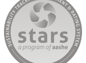 Logo for Stars program of the Association for the Advancement of Sustainability in Higher Education.