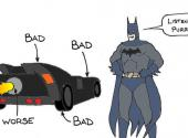 Batman's carbon footprint is enormous, says Stanford's Miles Traer.