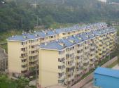 Rooftop solar water heaters are ubiquitous in Tieshan, Hubei, China.