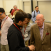Sec. Shultz speaking with students